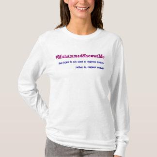 #MuhammadShowedMe Tシャツ
