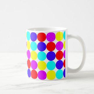 MULTI-DOTS (水玉模様のデザイン)の~ コーヒーマグカップ