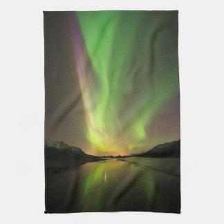 Multicolor Aurora キッチンタオル