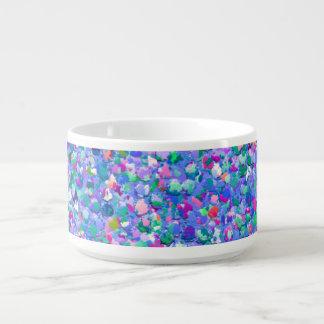 Multicolor Mosaic Modern Grit Glitter チリボウル