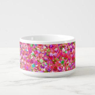 Multicolor Mosaic Modern Grit Glitter #4 チリボウル