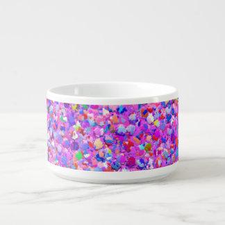 Multicolor Mosaic Modern Grit Glitter #8 チリボウル