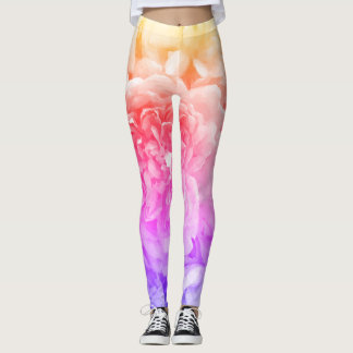 Multicoloured Rose Leggings レギンス