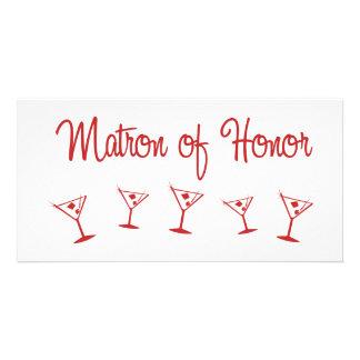 MultiMartini MatronHonor赤い カード
