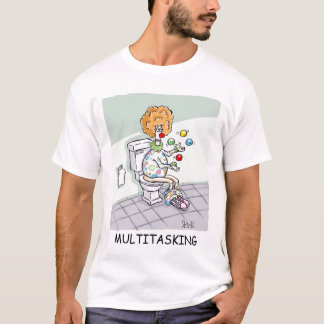 Multitasking_Colour Tシャツ