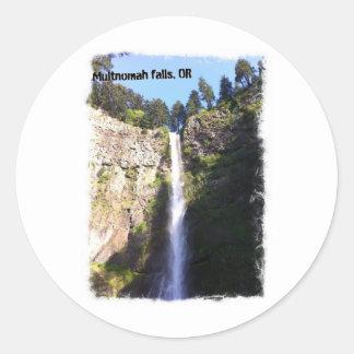 Multnomahの滝、オレゴン ラウンドシール