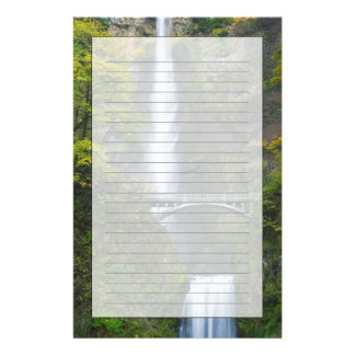 Multnomahの滝、オレゴン 便箋