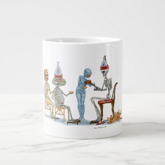 Mummificの骨組夕食 ジャンボコーヒーマグカップ