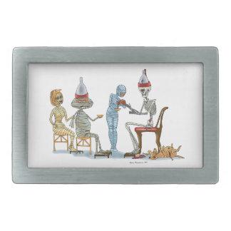 Mummificの骨組夕食 長方形ベルトバックル