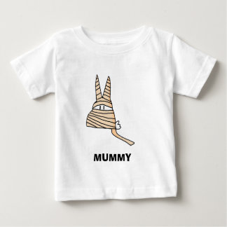 mummyilly、ミイラ ベビーTシャツ