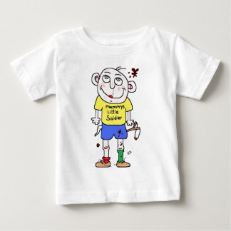 mummysの小さい兵士 ベビーTシャツ