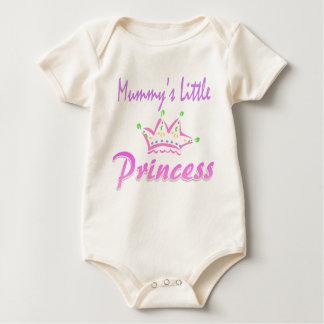 Mummysの小さい王女 ベビーボディスーツ