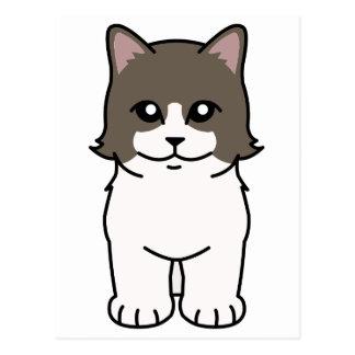 Munchkin猫の漫画 ポストカード