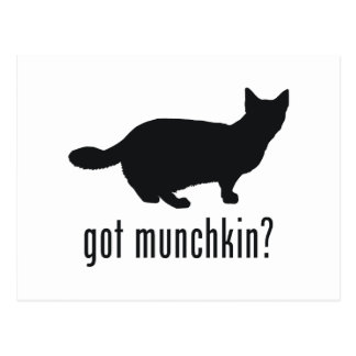 Munchkin猫 ポストカード