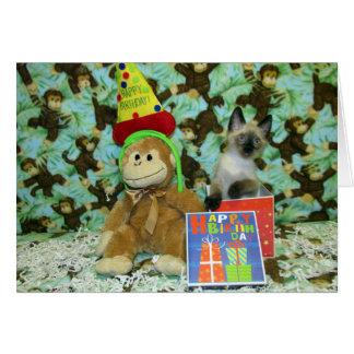 munch's誕生日はカードを望みます カード