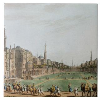 Muradのベグの壮大なカイロの主な正方形、 タイル