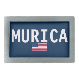 MURICAのベルトの留め金 長方形ベルトバックル