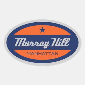 Murray Hill 楕円形シール