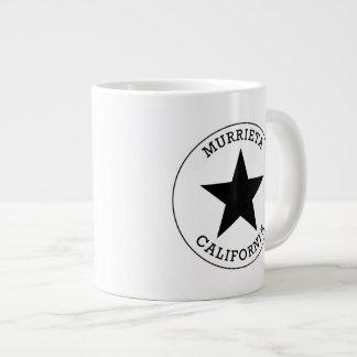 Murrietaカリフォルニア ジャンボコーヒーマグカップ
