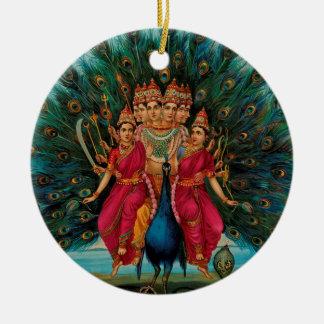 MURUGANのヒンズー教の神 セラミックオーナメント