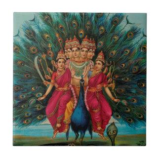 MURUGANのヒンズー教の神 タイル