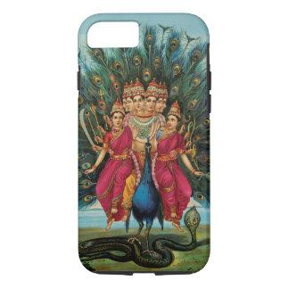Murugan Kartikeyan Skanda Subrahmanyanのヒンズー教神 iPhone 8/7ケース