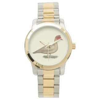 Muscovyの軽いチョコレートドレーク 腕時計