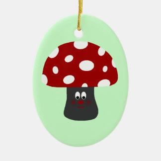 Mushroom氏 セラミックオーナメント