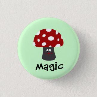 Mushroonの魔法 3.2cm 丸型バッジ