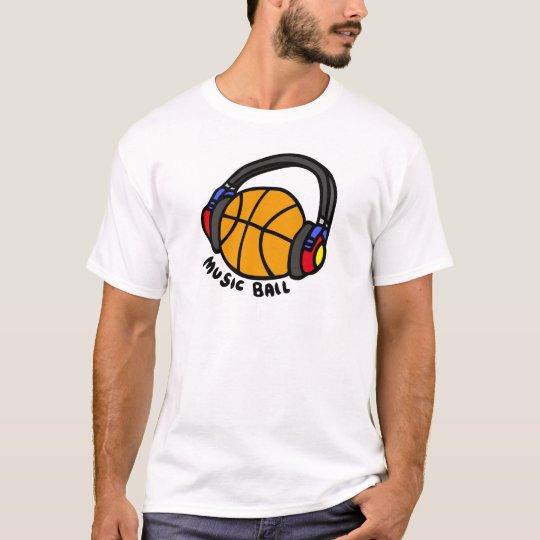 MUSIC BALL 01 Tシャツ