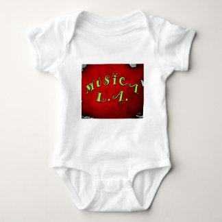 Musica LのA.のTシャツ ベビーボディスーツ