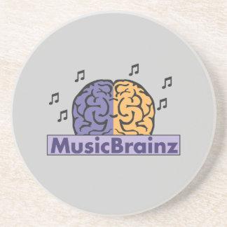 MusicBrainzのロゴ コースター