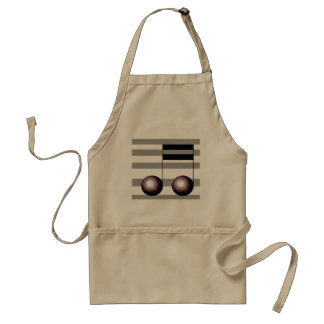 Musicians Cooking Apron Kitchen Barbecue Music スタンダードエプロン