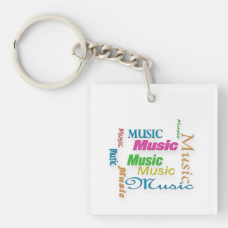 MusicWordの雲3 キーホルダー