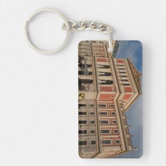 Musikverein、Wien Österreich 長方形(両面)アクリル製キーホルダー