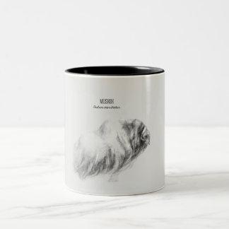 「Muskoxのdrawing ツートーンマグカップ