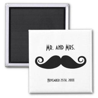 Mustache氏及び夫人 マグネット