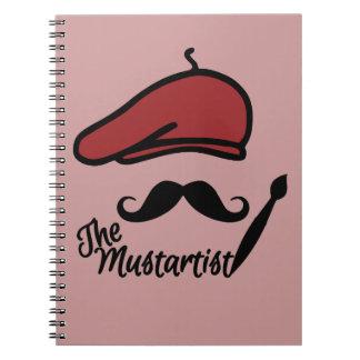 Mustartistのカスタムのノート ノートブック