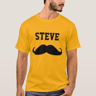 Mustascheのあなたの標準を挙げて下さい Tシャツ