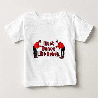 MustDanceLikeRobot ベビーTシャツ