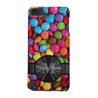 Muticolored colorful candy personalized iPod touch 5G ケース