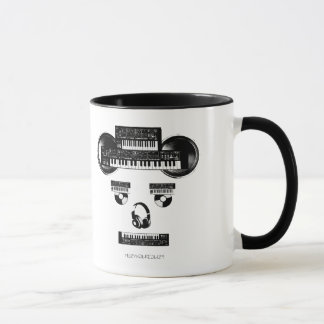 MUZYKALREALIZT SYNTHのマグ マグカップ
