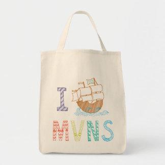 MVNS 2014/2015の海賊船のバッグ トートバッグ