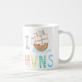 MVNS 2014/2015の海賊船のマグ コーヒーマグカップ