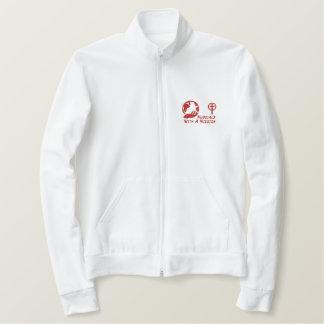 MWAMのフリース-赤いロゴのさまざまなスタイル 刺繍入りジャケット