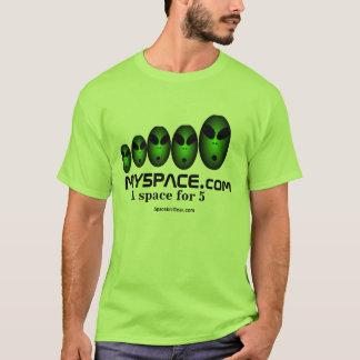 My5pace.comのTシャツ2008ad Tシャツ