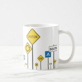 My66交通標識2 コーヒーマグカップ