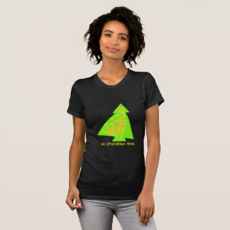 My Christmas Tree illustration of a tree Tシャツ