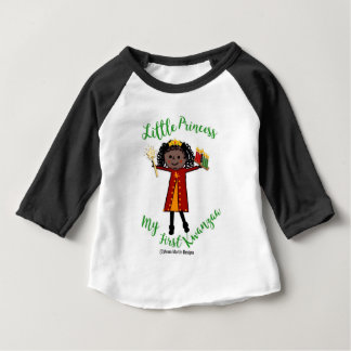 My First Kwanzaa小さい王女 ベビーTシャツ