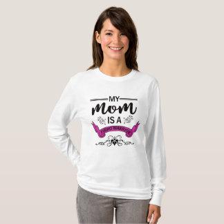 My Mom Is A Fibro Warrior Shirt Tシャツ
